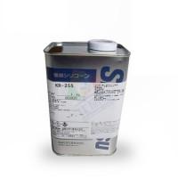日本信越(ShinEtsu)KR-255线路板三防胶有机硅树脂披覆胶1KG/罐淡黄色