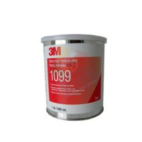 3M 1099单组份可加热固化胶粘剂氯丁橡胶电子胶 浅黄褐色946ml