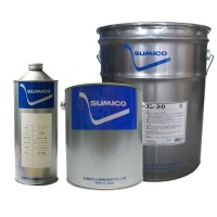 住矿SUMICO加热炉干燥炉等设备的高温链条用干性润滑剂Hightemp Oil G黑色