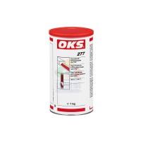 OKS 277含聚四氟乙烯的高压润滑膏金属塑料和陶瓷制成的滑动的机器零部件进行润滑 白色