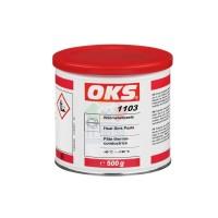 OKS1103散热片电子润滑膏导热硅脂电子元件散热用导热率0.7白色500g