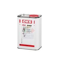 OKS 340机器部件的合成粘附型润滑剂高粘性链条保护剂 浅绿色