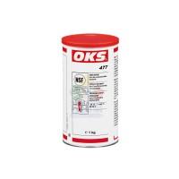 OKS 477硅酸盐聚α烯烃PAO食品技术设备的阀门润滑脂 米色