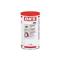 OKS 480钙磺酸复合基聚α烯烃用于食品技术领域的防水高压润滑脂 奶油色
