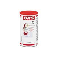 OKS 495铝复合基合成油粘性润滑剂输送设备齿条 黑色