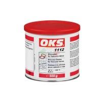 OKS1112无机稠化硅油真空阀密封硅脂耐介质滑阀阀门润滑 透明500g