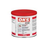 OKS1133锂基硅油低温硅脂塑料相容轴承润滑脂硅酮脂 透明 500g
