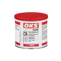 OKS1144锂基硅油通用型硅脂塑料相容中速轴承润滑脂 米色500g
