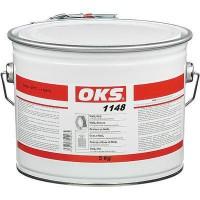 OKS1148含铁氟龙硅油脂长效润滑脂低温启动电动马达密封式轴承5kg