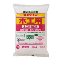 日本施敏打硬605木工胶正品cemedine605快干型木工用白色接着剂代理